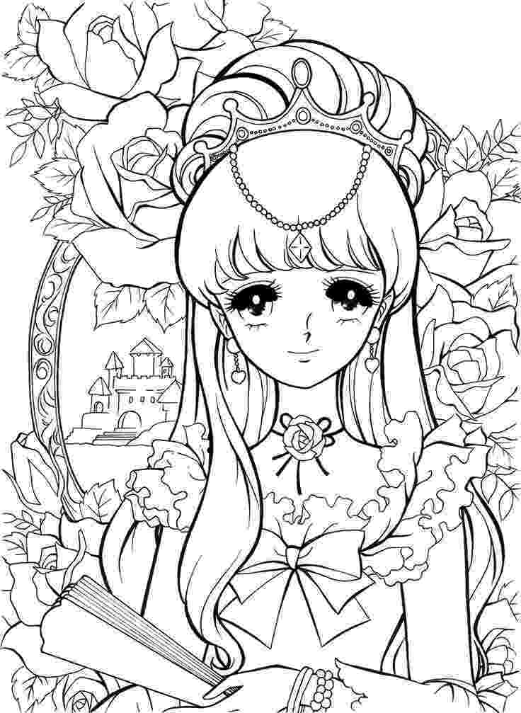 coloring pages manga 80 best images about coloring pages on pinterest cute manga coloring pages