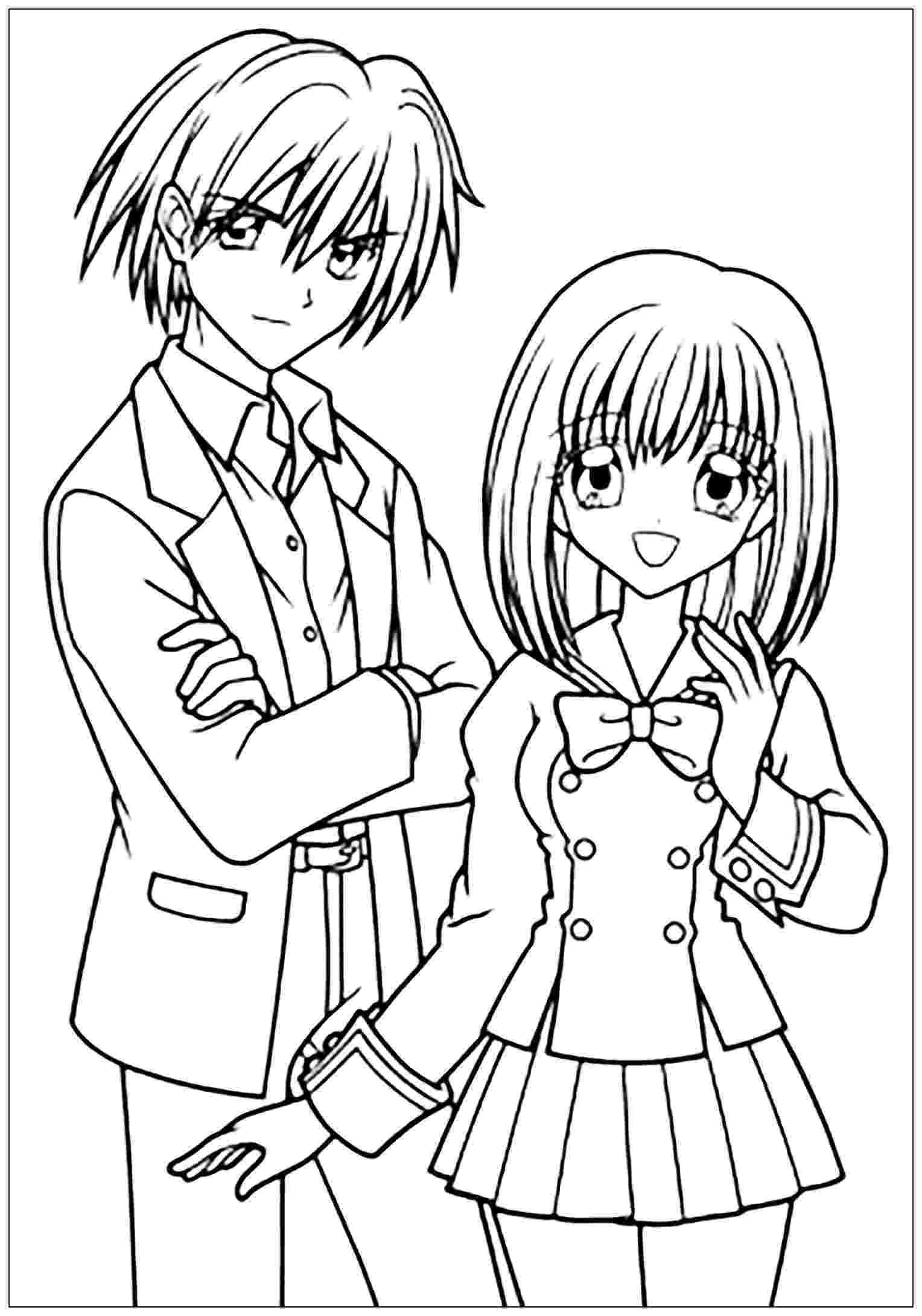 coloring pages manga shugo chara catman anime coloring pages for kids pages manga coloring
