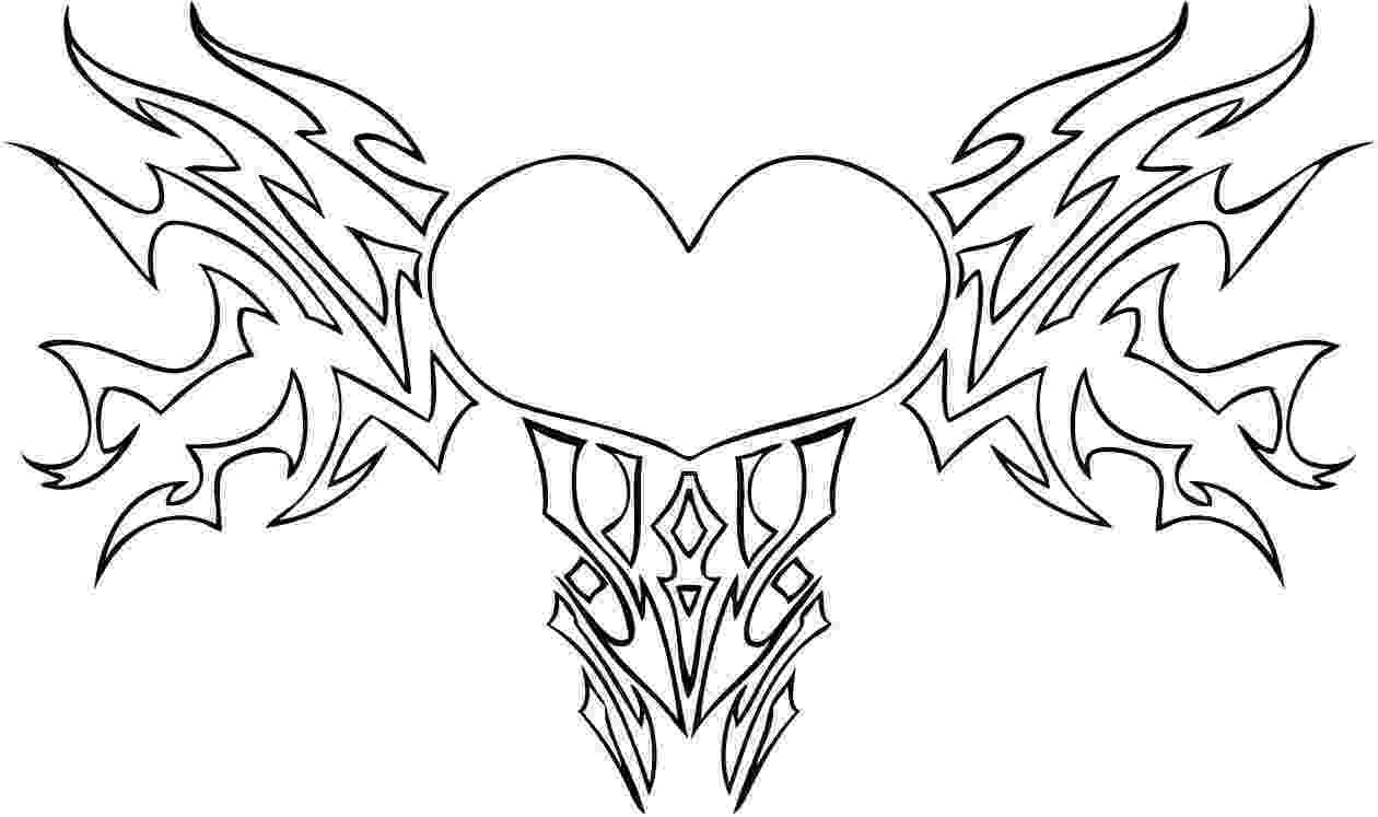 coloring pages of a heart free printable heart coloring pages for kids pages coloring heart a of