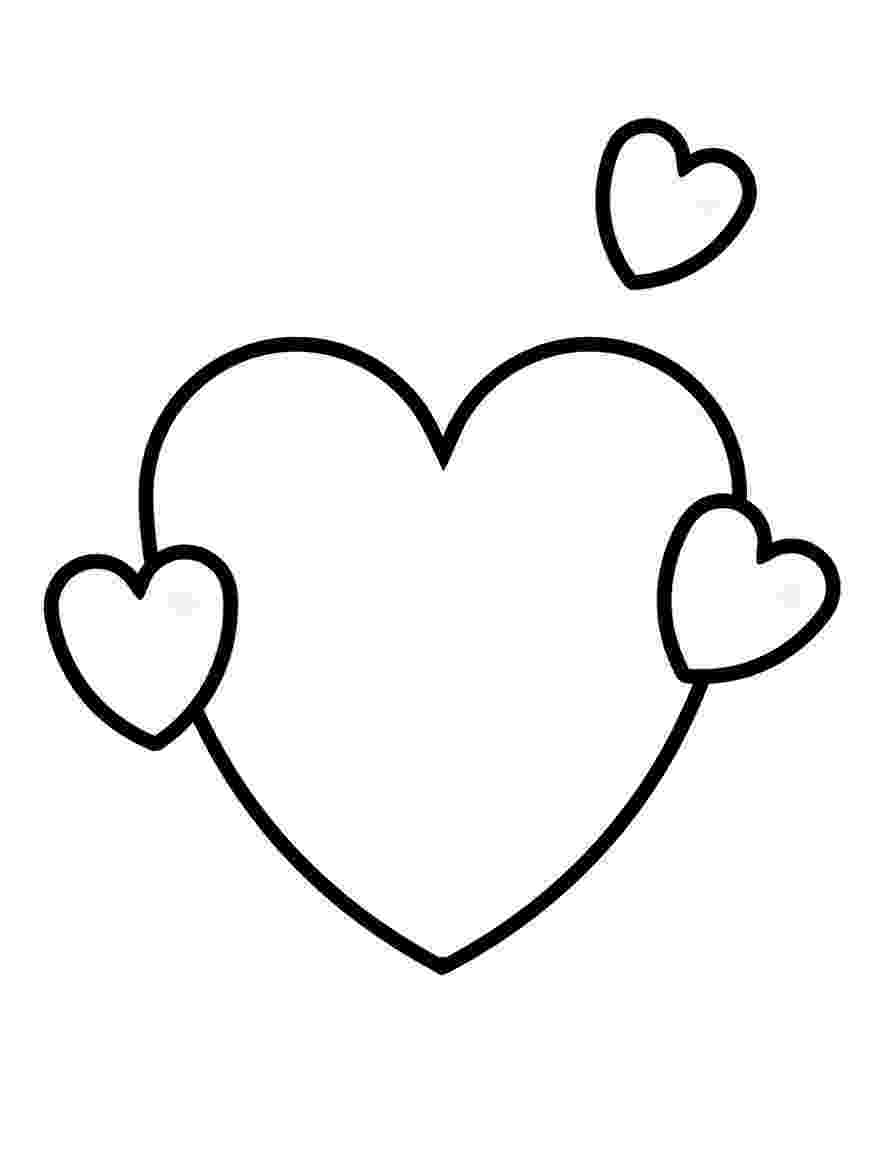 coloring pages of a heart hearts coloring pages getcoloringpagescom coloring pages a of heart