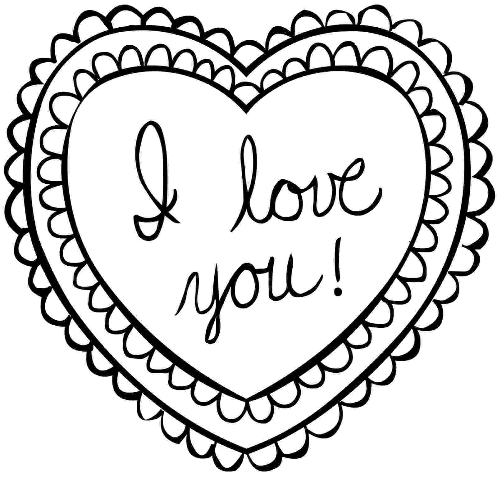 coloring pages of a heart love heart coloring page heart coloring pages love heart of a pages coloring