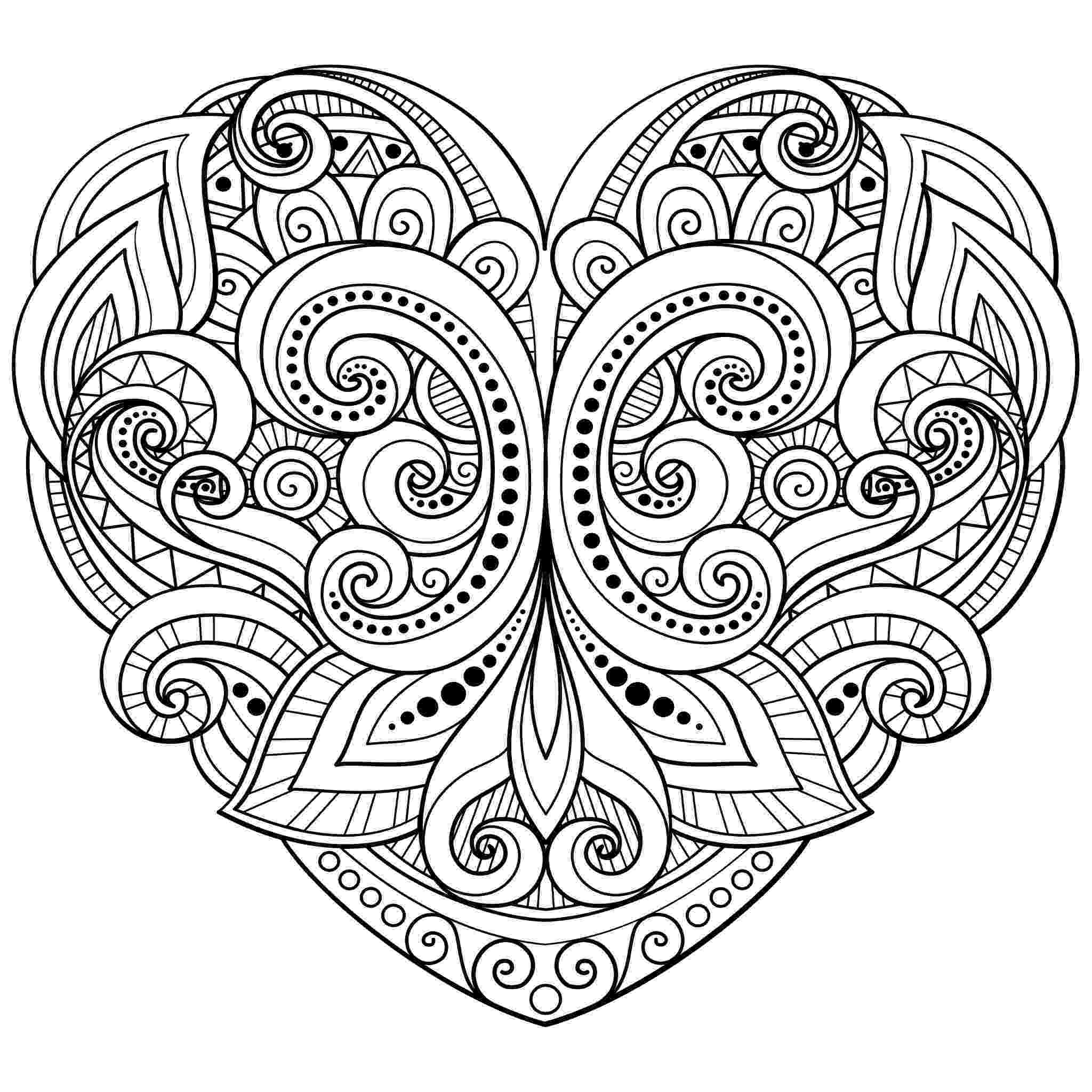 coloring pages of a heart valentine heart coloring pages best coloring pages for kids coloring heart of a pages