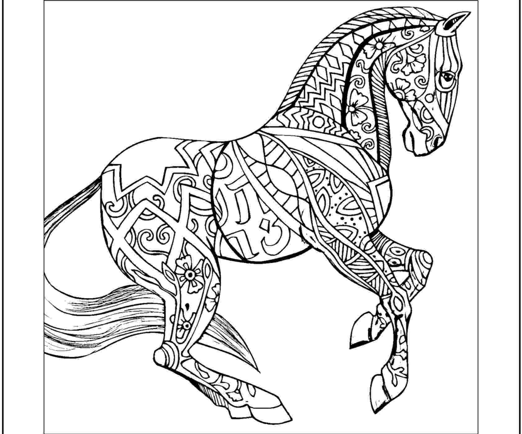 coloring pages of animals horses animal coloring pages for adults best coloring pages for of pages animals horses coloring