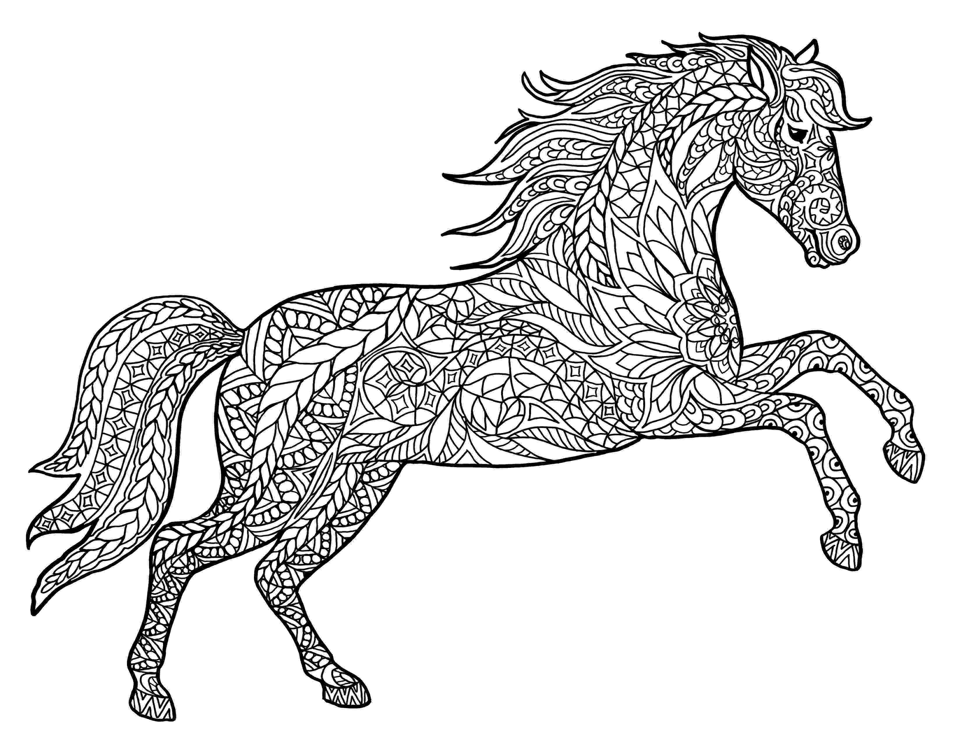 coloring pages of animals horses horse coloring pages preschool and kindergarten animals coloring of pages horses