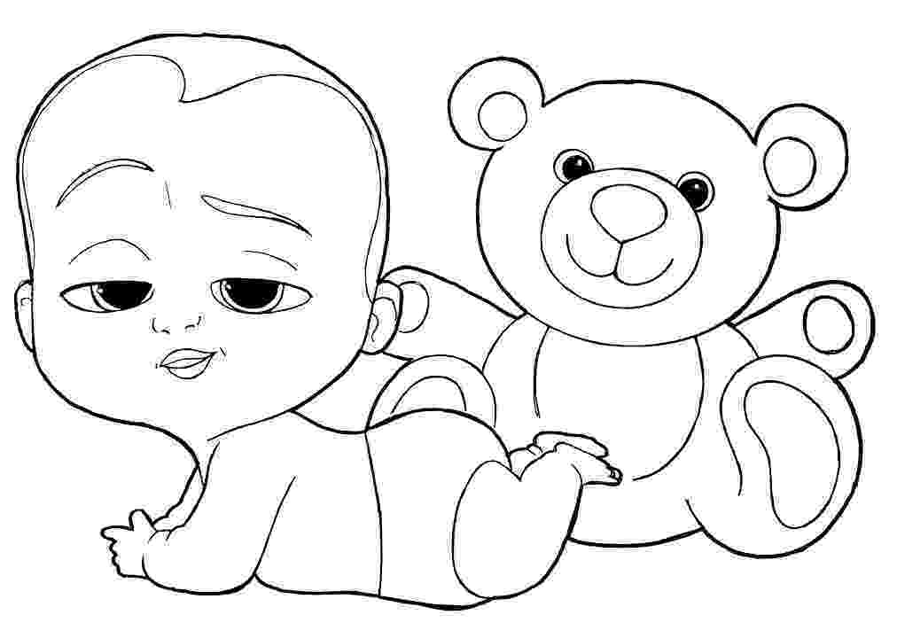 coloring pages of babies baby shower coloring pages to download and print for free pages coloring of babies
