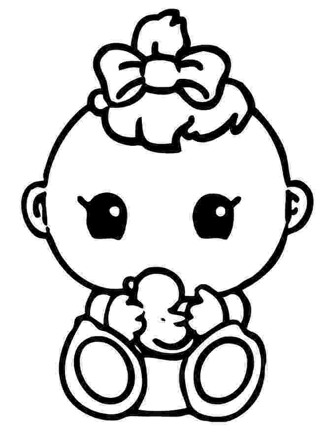 coloring pages of babies free printable baby coloring pages for kids pages of coloring babies 1 1