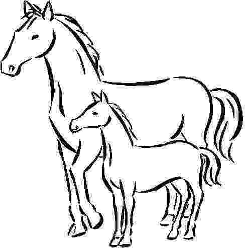 coloring pages of baby horses baby horse coloring pages coloring home coloring baby horses of pages
