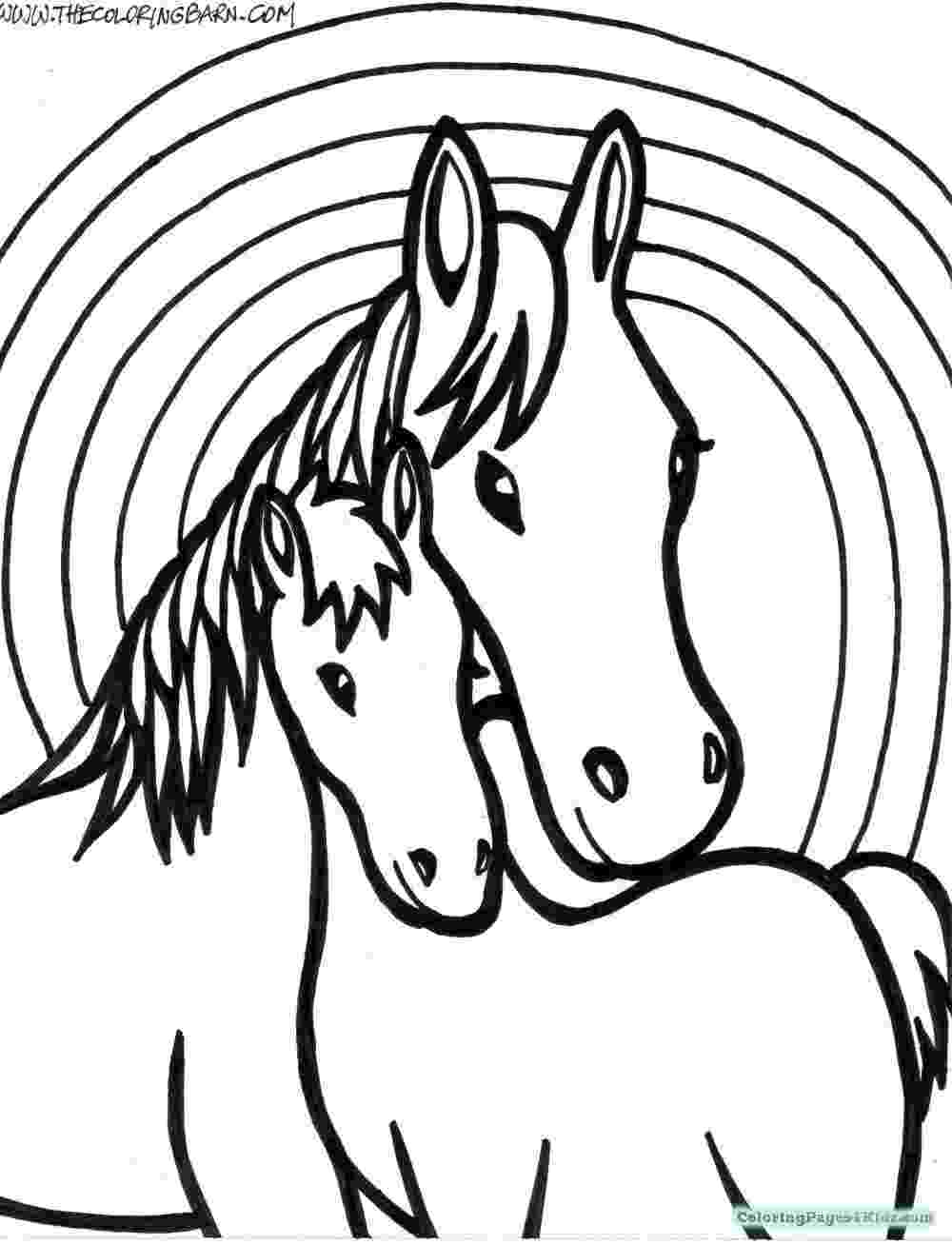 coloring pages of baby horses baby horse coloring pages horse baby horse running pages of coloring horses baby