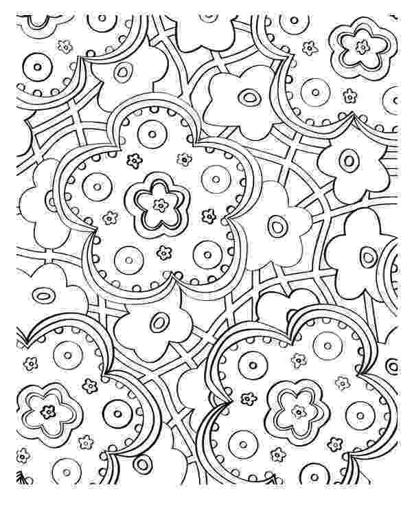 coloring pages of beautiful flowers beautiful flower mosaic coloring page download print beautiful flowers coloring of pages