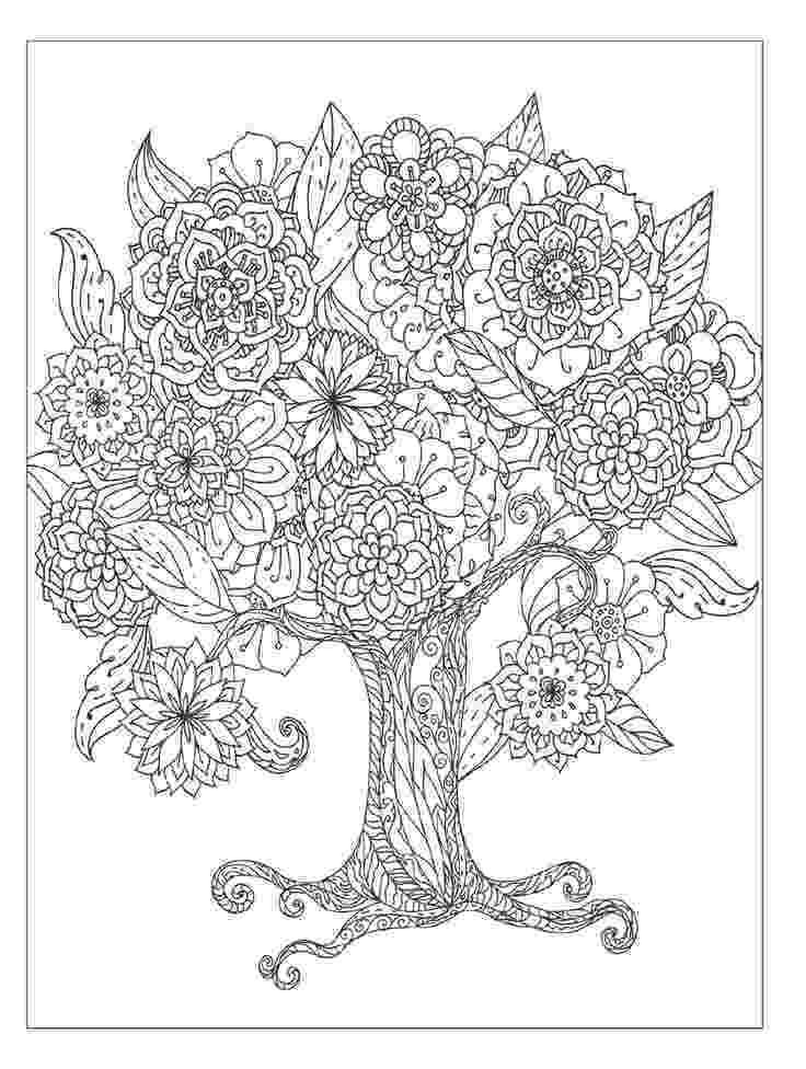 coloring pages of beautiful flowers beautiful flowers detailed floral designs coloring book of beautiful flowers coloring pages