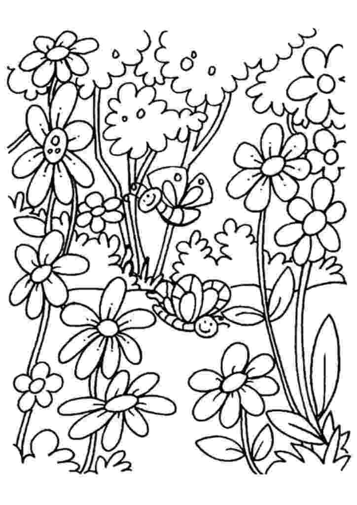 coloring pages of beautiful flowers beautiful printable flowers coloring pages flowers beautiful of pages coloring