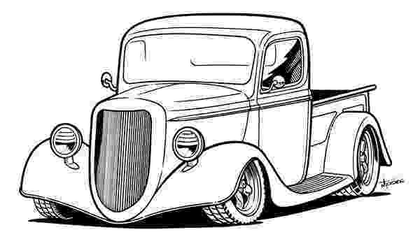 coloring pages of cars and trucks clipart old trucks google search quilt ideas and coloring pages cars trucks of