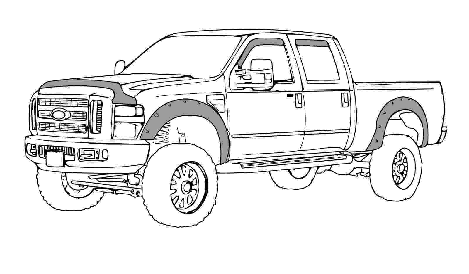 coloring pages of cars and trucks pin by muriel wright on trucks trucks drawings color pages of coloring and cars trucks