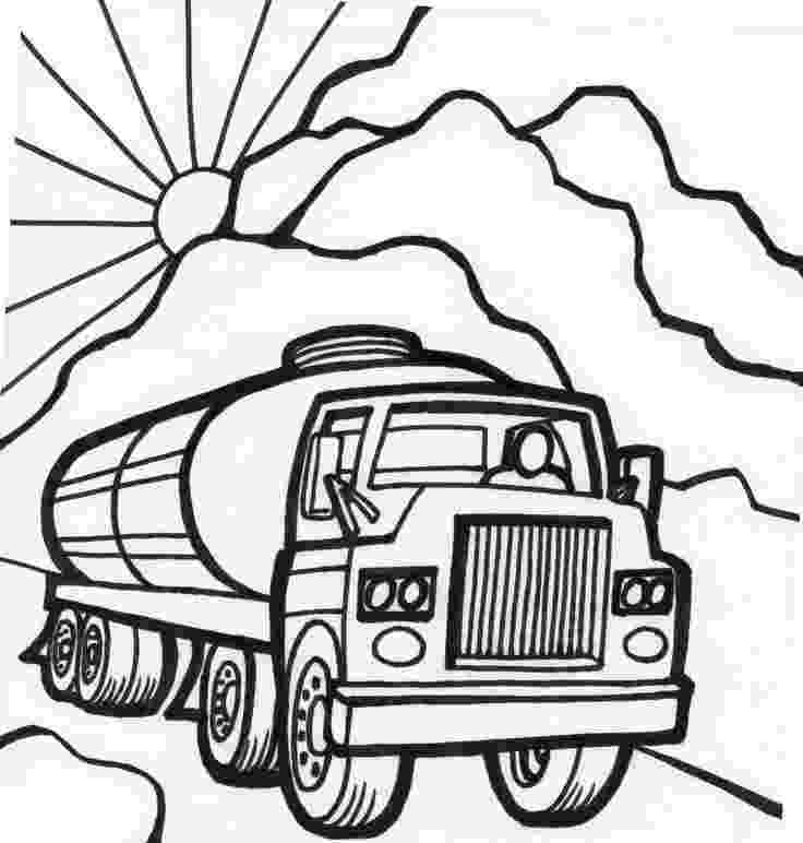 coloring pages of cars and trucks tanker truck coloring page fast car coloring page monster cars trucks and coloring pages of