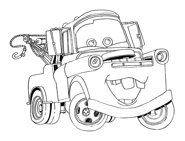 coloring pages of cars characters 6 free printable disney cars tow mater coloring pages cars coloring of characters pages