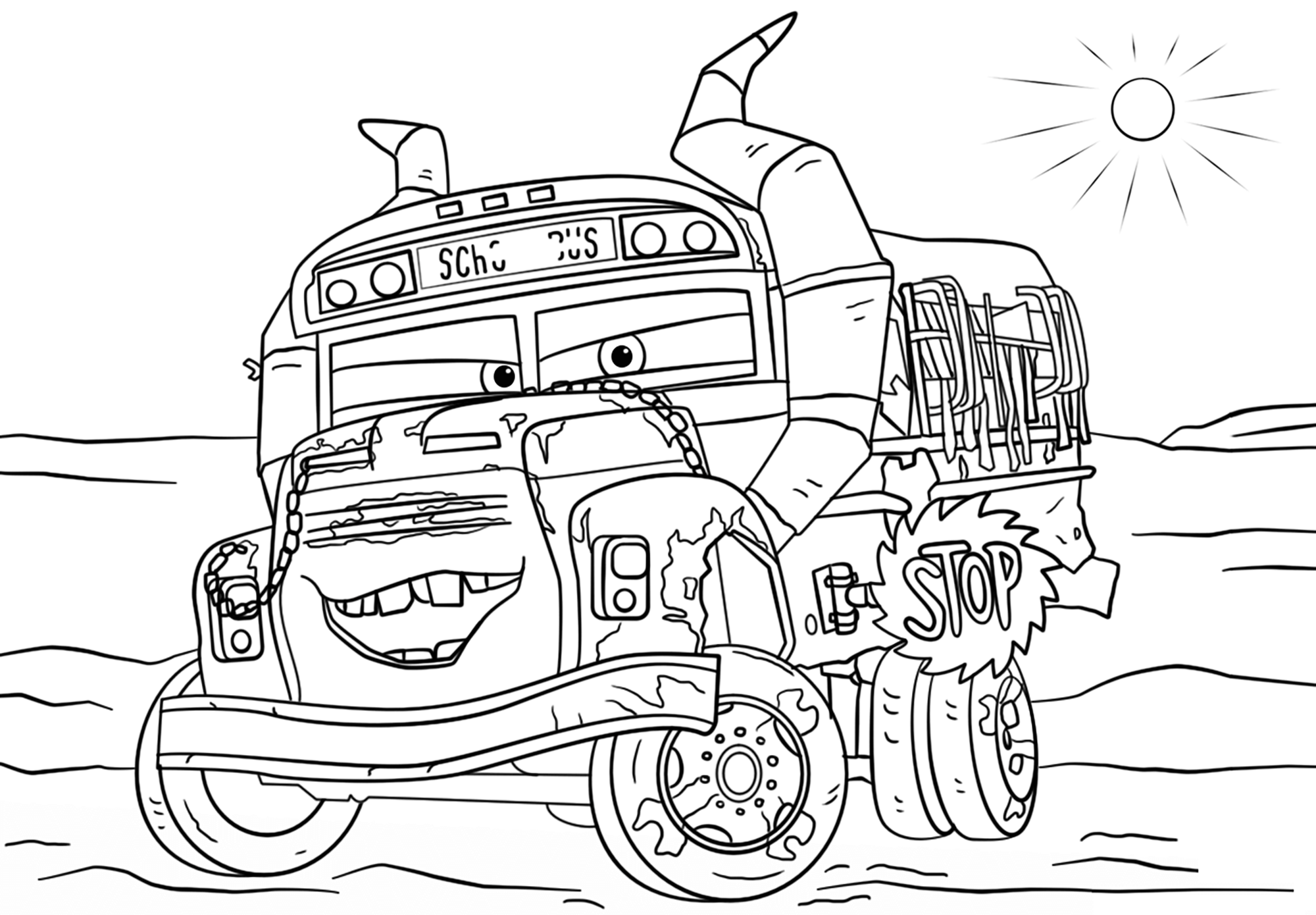 coloring pages of cars characters have fun coloring the chevrolet impala ramone one of the coloring characters of cars pages