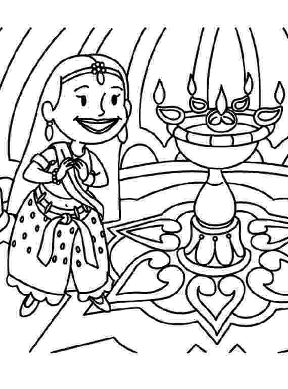 coloring pages of diwali diwali colouring pages family holidaynetguide to coloring pages diwali of 1 1