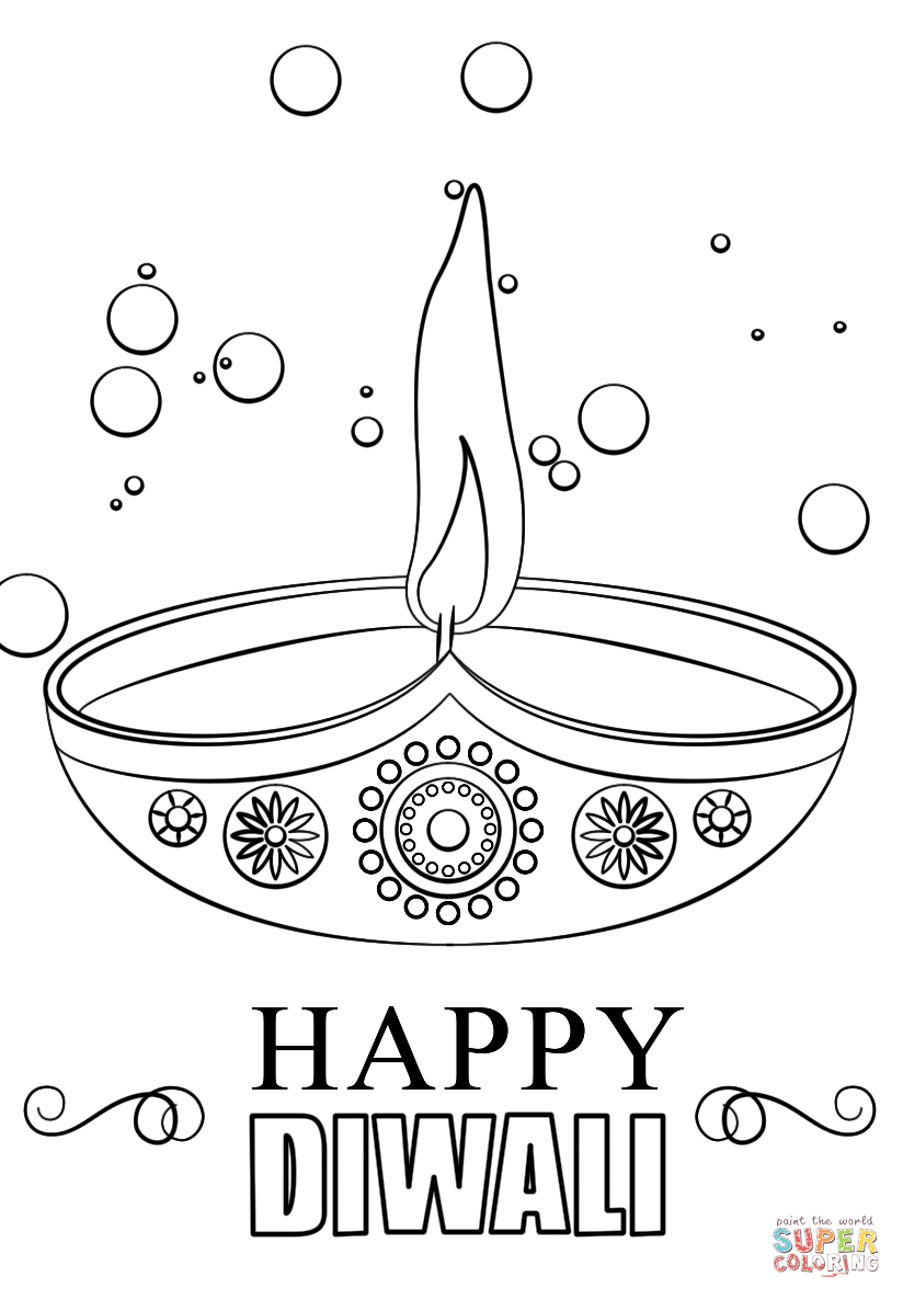 coloring pages of diwali pin on kids39 art craft diwali pages coloring of diwali