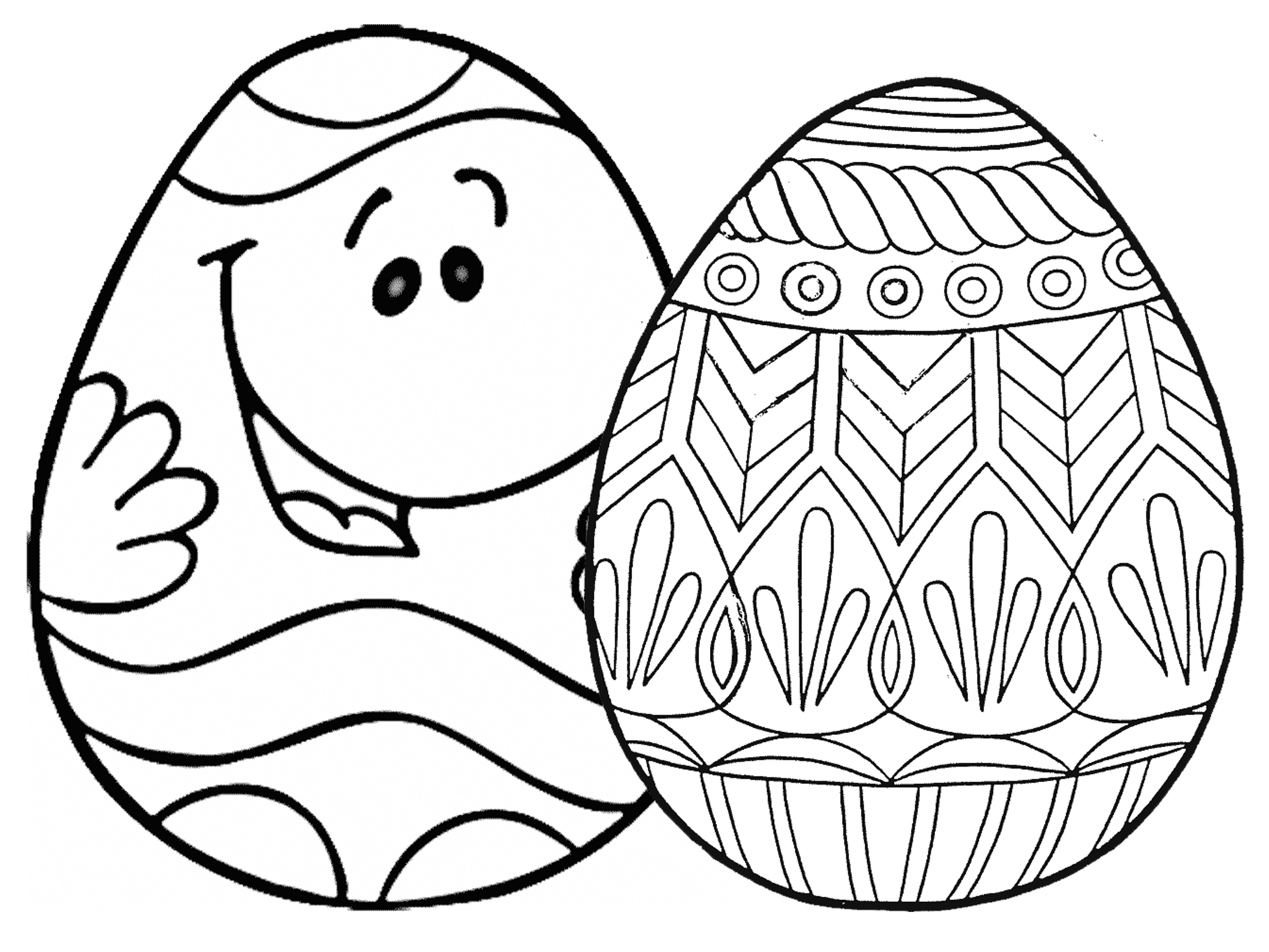 coloring pages of easter eggs 7 places for free printable easter egg coloring pages pages of easter coloring eggs