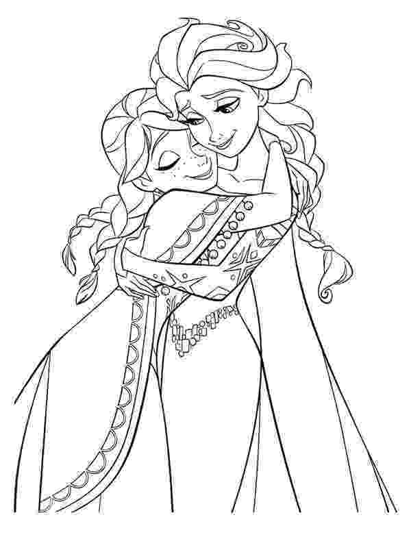 coloring pages of elsa 30 free frozen colouring pages coloring pages elsa of