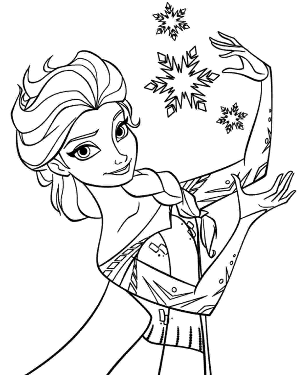 coloring pages of elsa free printable elsa coloring pages for kids best pages coloring elsa of