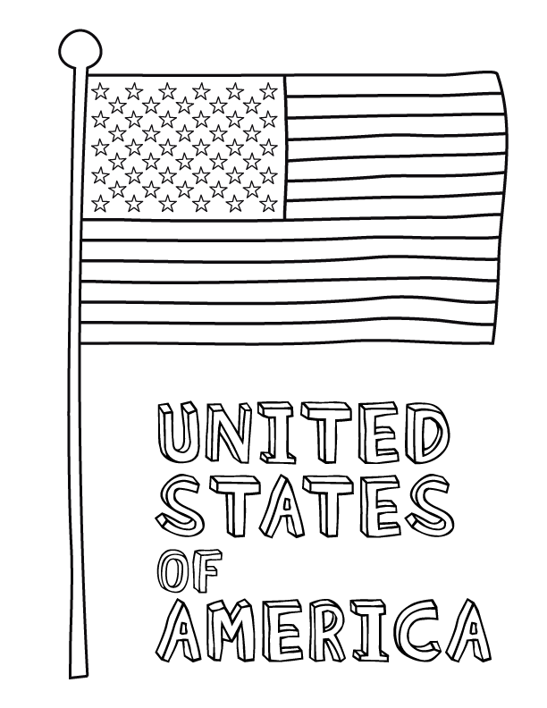 coloring pages of flags american flag coloring page for the love of the country flags pages of coloring