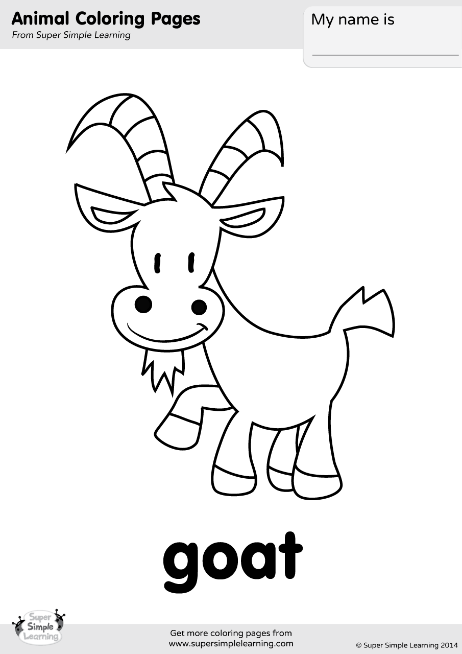 coloring pages of goats 19 animal goats printable coloring sheet pages goats coloring of