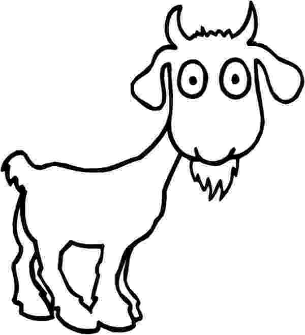 coloring pages of goats free printable goat coloring pages for kids coloring goats pages of 1 1