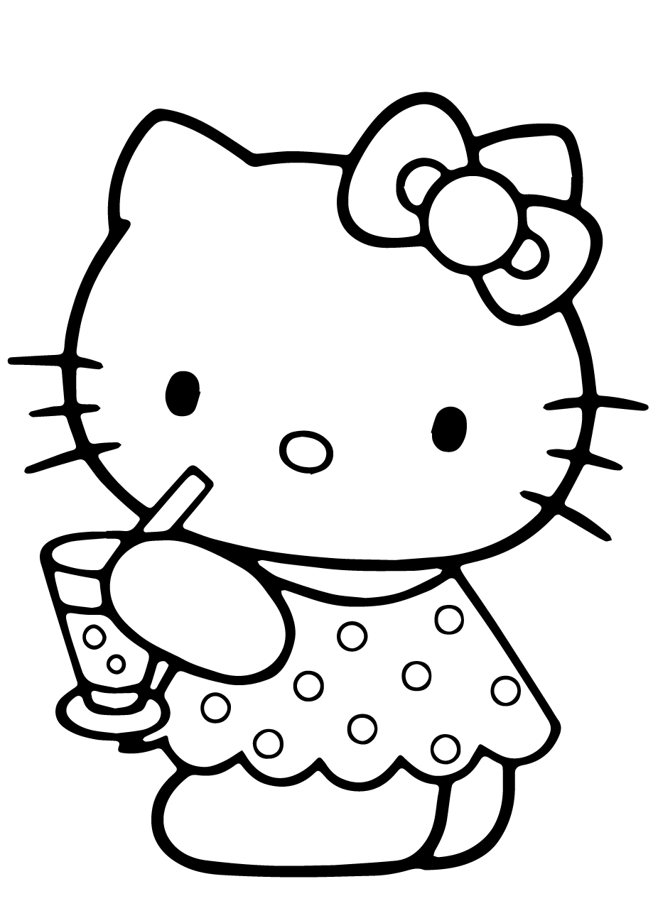coloring pages of hello kitty cool hello kitty coloring pages download and print for free pages hello coloring of kitty