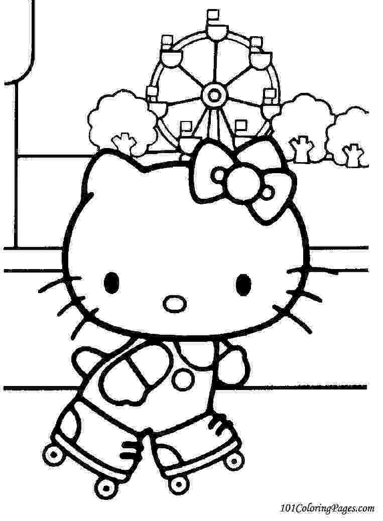 coloring pages of hello kitty free printable hello kitty coloring pages for pages pages coloring hello of kitty