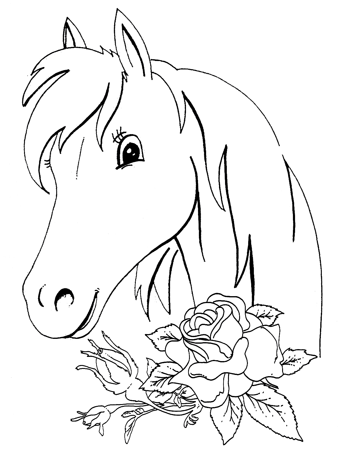 coloring pages of horses and ponies animal coloring pages horse coloring page coloring of coloring ponies pages and horses