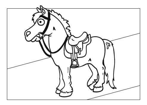 coloring pages of horses and ponies free horse coloring pages coloring of ponies and horses pages