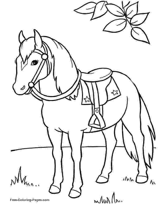 coloring pages of horses and ponies horse coloring pages to download and print for free and pages of horses ponies coloring