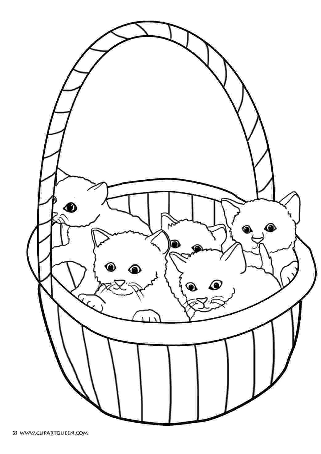 coloring pages of kittens to print kitten coloring pages getcoloringpagescom of print pages to kittens coloring