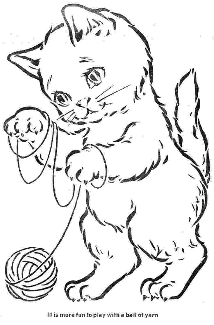 coloring pages of kittens to print top 30 free printable cat coloring pages for kids kittens coloring pages to print of