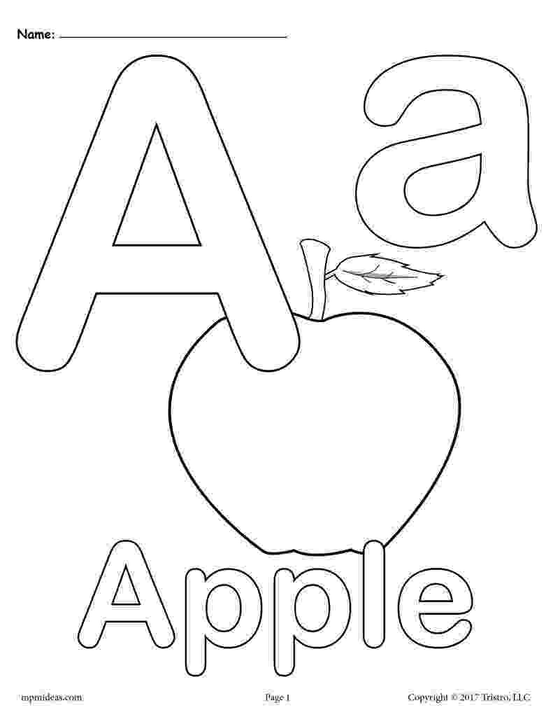 coloring pages of letters free printable abc coloring pages for kids of letters coloring pages