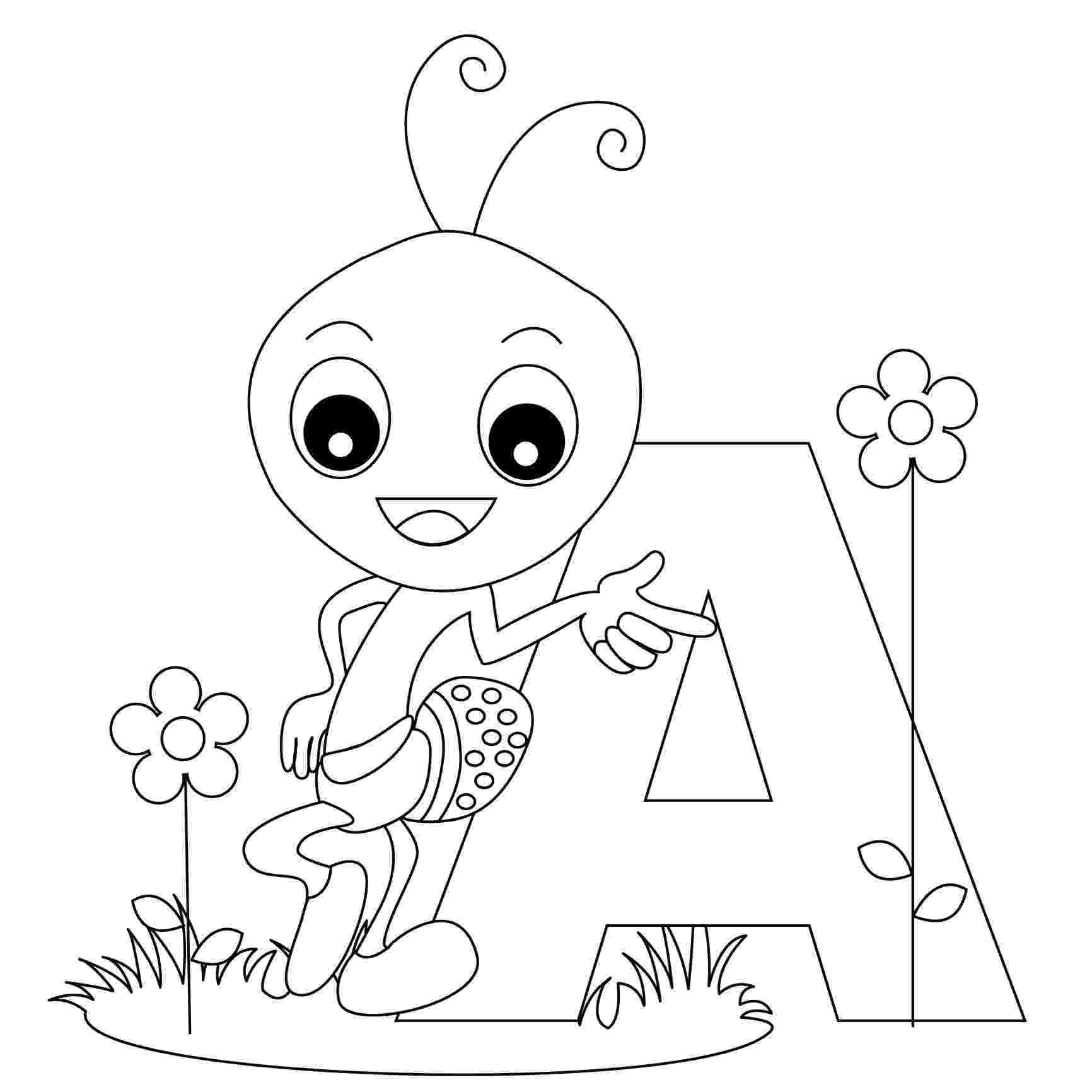 coloring pages of letters free printable alphabet coloring pages for kids best letters coloring of pages