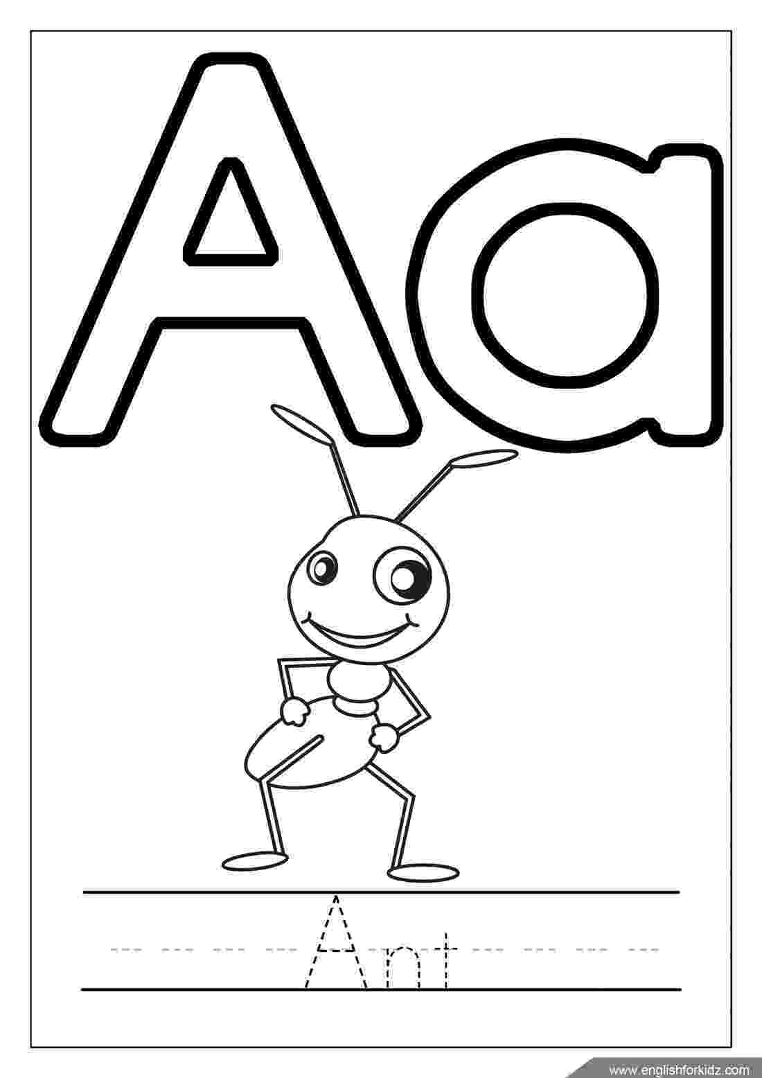 coloring pages of letters free printable alphabet coloring pages for kids best pages of coloring letters