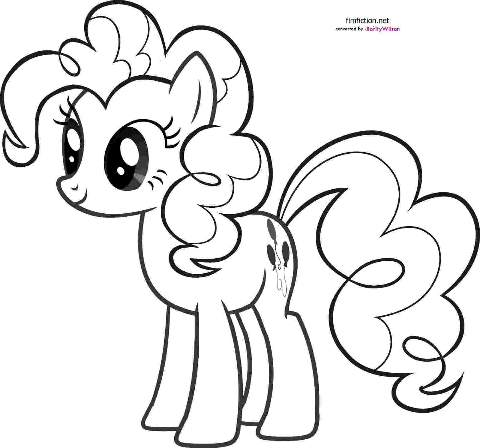 coloring pages of my little pony free printable my little pony coloring pages for kids coloring pages pony of little my