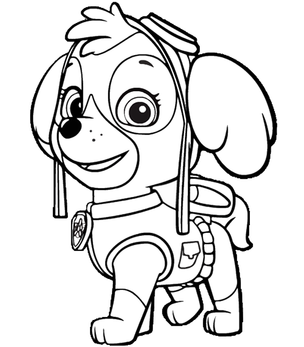 coloring pages of paw patrol free paw patrol coloring pages happiness is homemade of pages patrol paw coloring