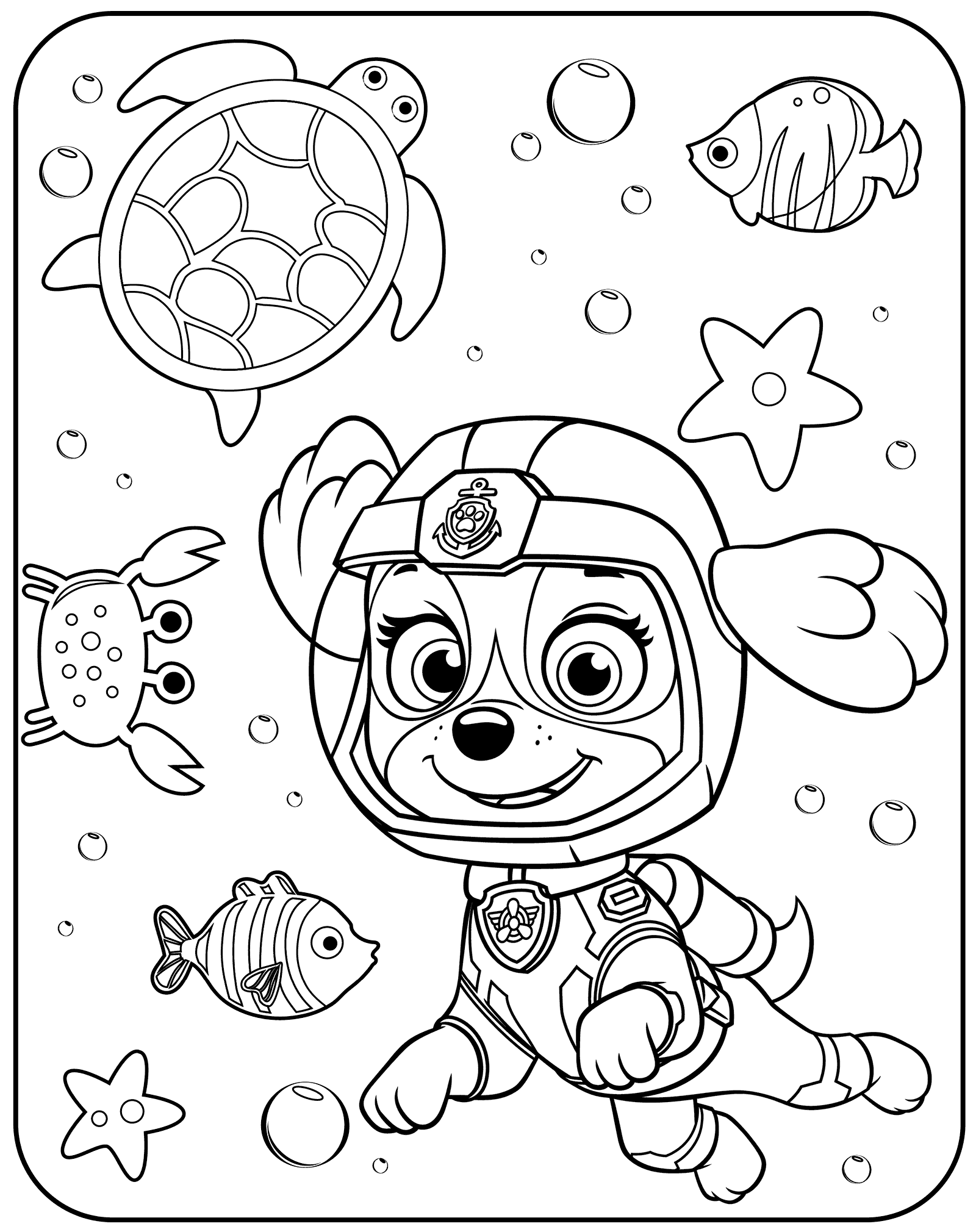 coloring pages of paw patrol free paw patrol coloring pages happiness is homemade pages patrol of coloring paw