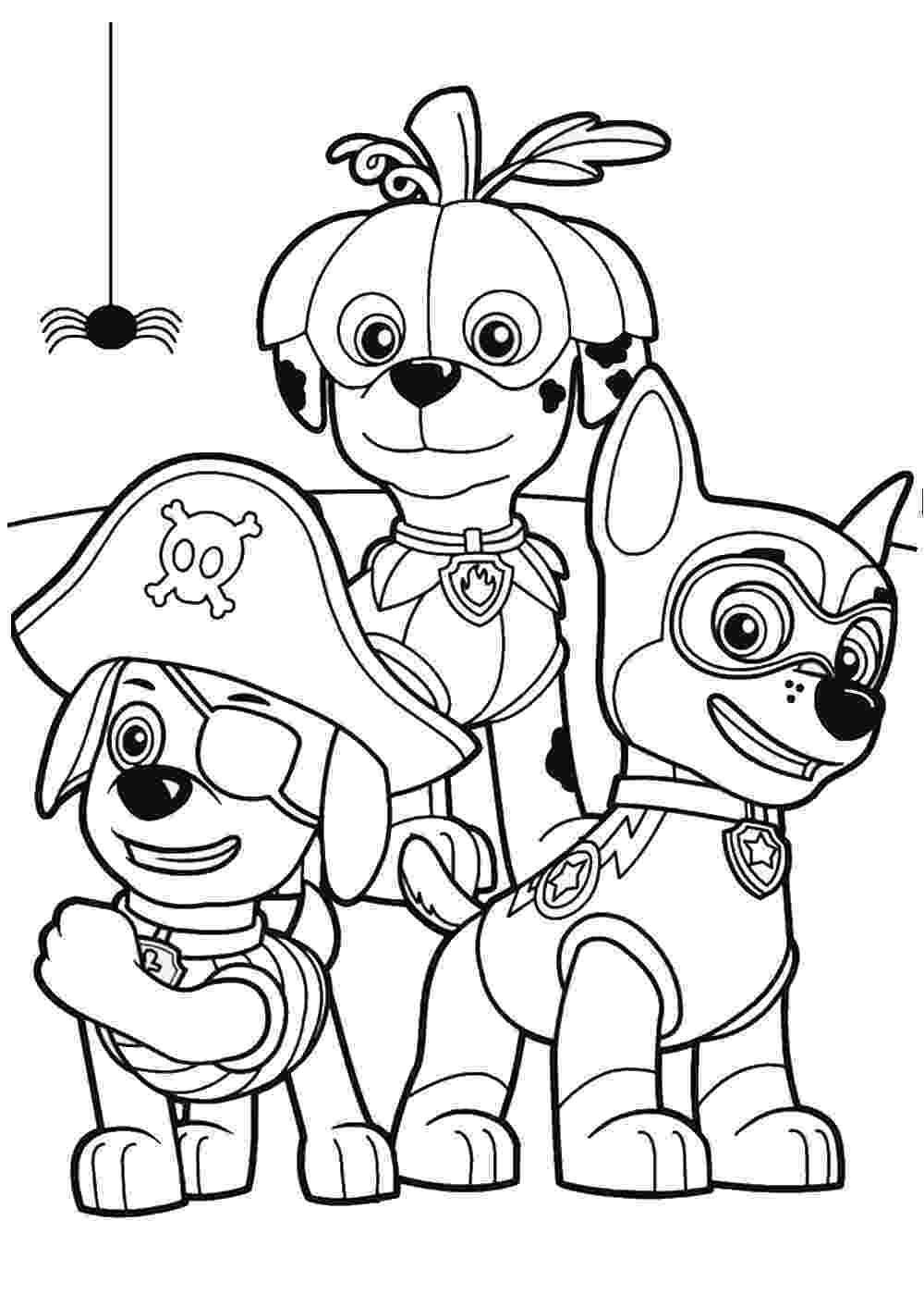 coloring pages of paw patrol paw patrol coloring pages of coloring patrol paw pages