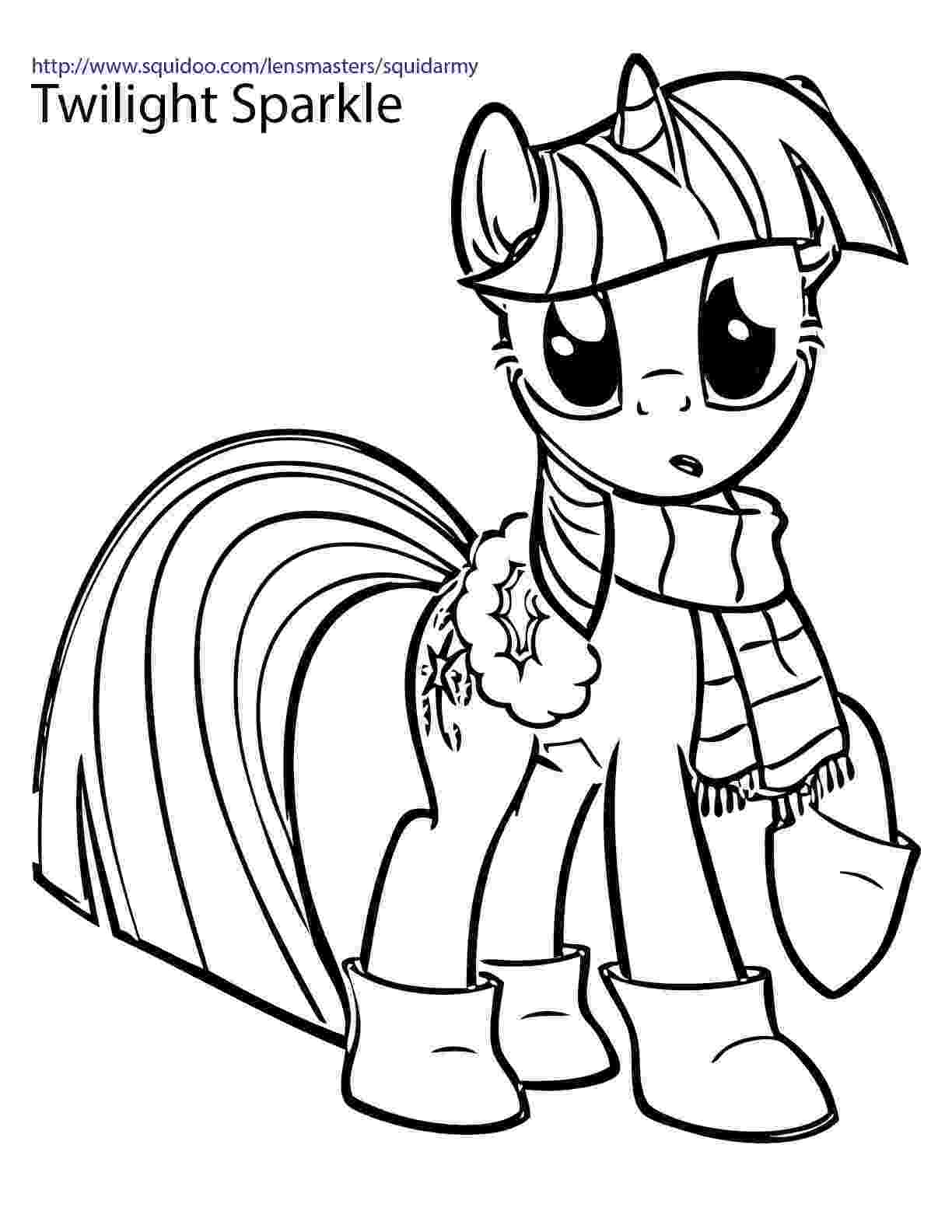 coloring pages of ponies my little pony coloring pages squid army ponies pages coloring of