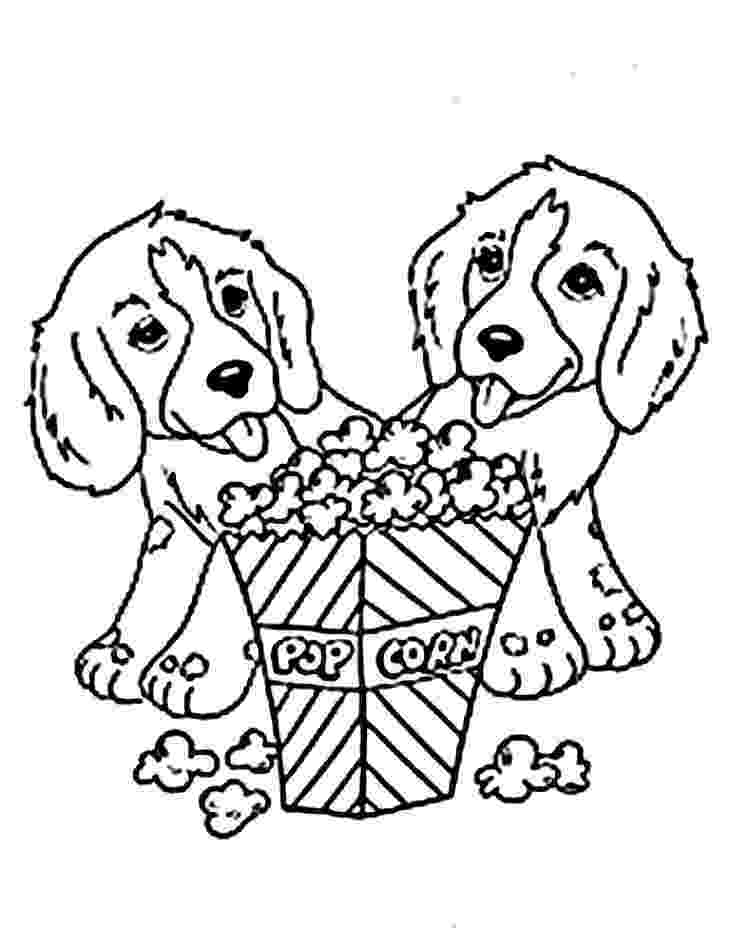 coloring pages of puppies cute puppy coloring pages for kids free printable coloring puppies pages of