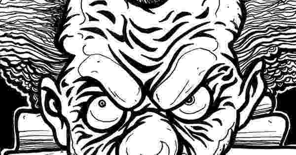 coloring pages of scary clowns pennywise coloring pages ideas scary but fun free scary coloring clowns of pages