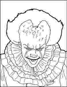 coloring pages of scary clowns scary clown coloring pages halloween coloring pages clowns pages coloring scary of