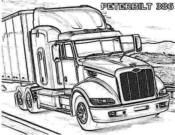coloring pages of semi trucks 14 printable pictures of semi truck free page print of coloring semi trucks pages