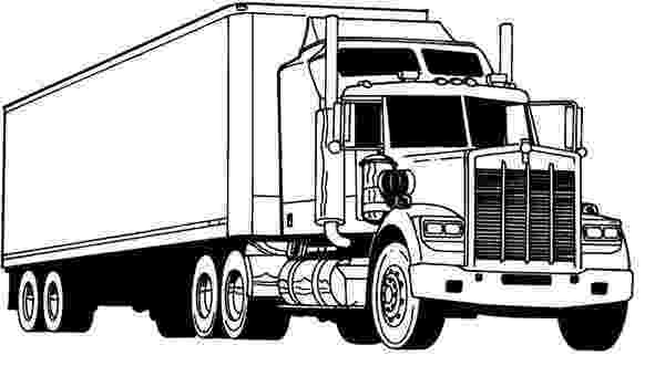 coloring pages of semi trucks amazing semi truck coloring page netart coloring pages semi of trucks
