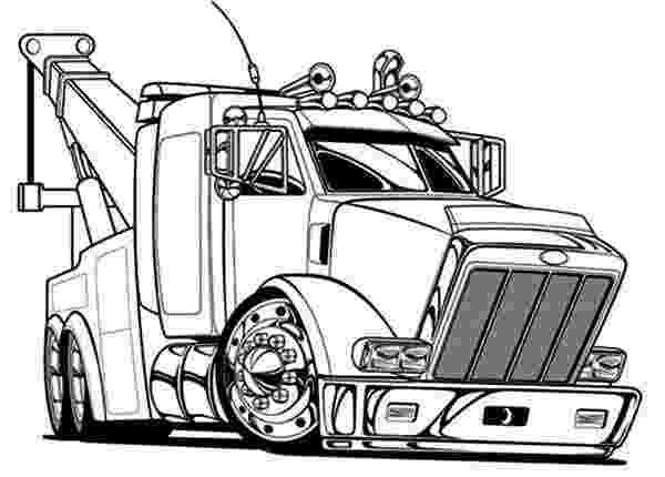 coloring pages of semi trucks big tow semi truck coloring page netart semi trucks of coloring pages