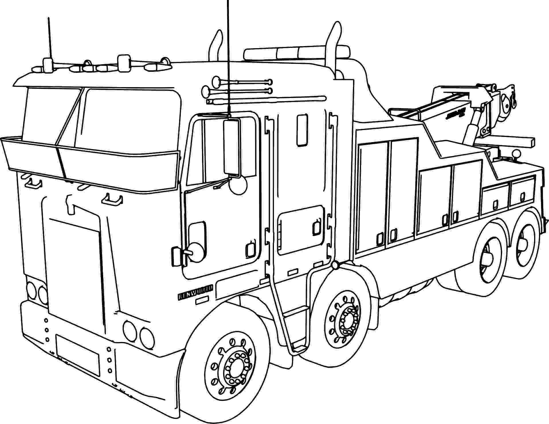 coloring pages of semi trucks semi truck coloring pages at getcoloringscom free trucks pages of semi coloring